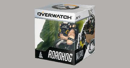 Фигурка Cute But Deadly Games: Overwatch: Roadhog