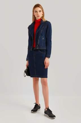 Куртка женская Finn Flare B19-15001 синяя 2XL