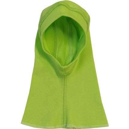 Шапка-балаклава Папитто Зеленый, размер 52-54 (2-3 года)