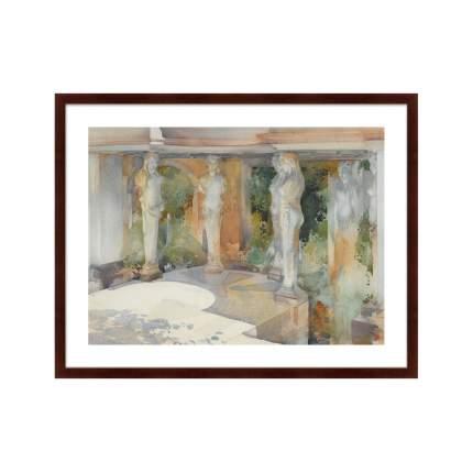 Картина THE TEMPLE OF DIANE, 1913г,, 78,5х100см, Картины в Квартиру