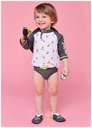 Плавки для мальчиков Happy Baby серый р.98