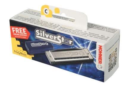 Губная гармоника диатоническая HOHNER Silver Star 504/20 Small box A