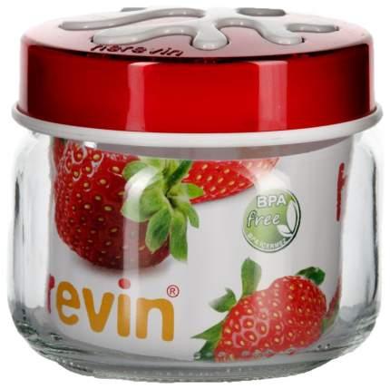 Банка для хранения HEREVIN 135357-001 Прозрачный, красный