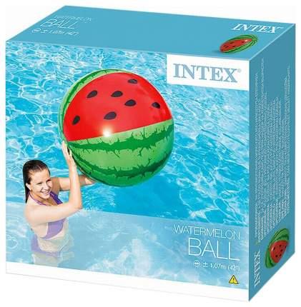 Мячик надувной Intex Арбуз 58075