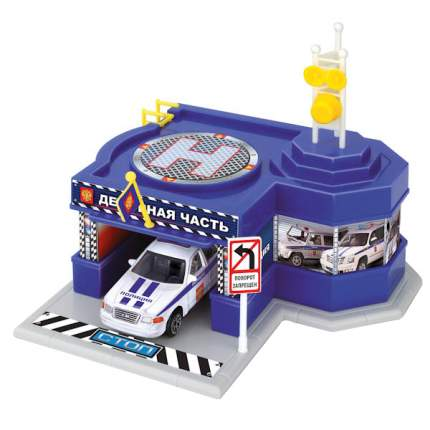 Игровой набор Технопарк Полиция - Дежурная часть