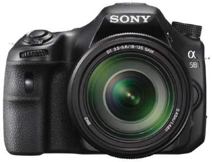 Фотоаппарат зеркальный Sony Alpha SLT-A58 18-135mm Black