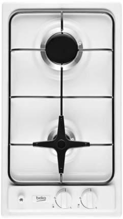 Встраиваемая варочная панель газовая Beko HDG 32210 SW White