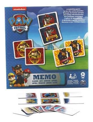 Настольная игра Paw patrol 6033326 Щенячий патруль мемори, 48 карточек