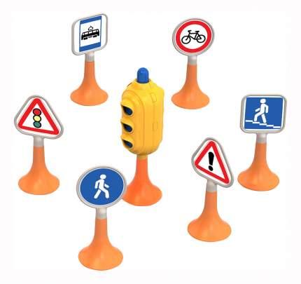 Набор Нордпласт Дорожные знаки №1 (светофор, 6 знаков)