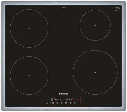 Встраиваемая варочная панель индукционная Siemens EH645FEB1E Black