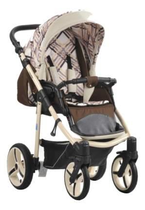 Прогулочная коляска Mr Sandman Traveler Premium коричневая, кантри