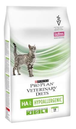 Сухой корм для кошек Pro Plan Veterinary Diets HA Hypoallergenic, гипоаллергенный, 1,3кг