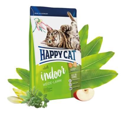 Сухой корм для кошек Happy Cat Fit & Well Indoor, для домашних, ягненок, 1,4кг