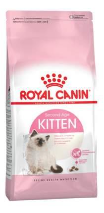 Сухой корм для котят ROYAL CANIN Second Age Kitten, от 4 до 12 месяцев, 4кг