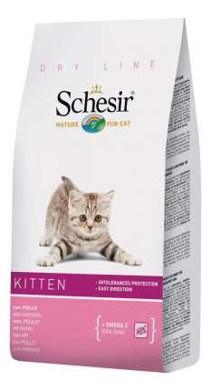 Сухой корм для котят Schesir Dry Line Kitten, курица, 0,4кг