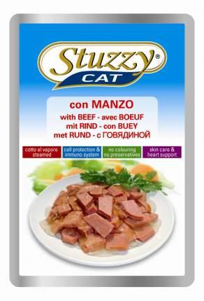 Влажный корм для кошек Stuzzy Cat, говядина, 24шт, 100г