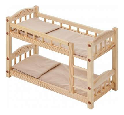 Кроватка Paremo двухъярусная бежевый PFD116-05