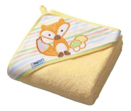Полотенце детское Babyono Soft 76x76 см желтое