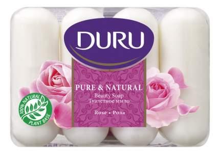 Косметическое мыло Duru Роза эпак 4х85 г