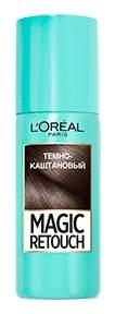 Спрей для волос L'Oreal Paris MAGIC RETOUCH тонирующий 2 Темный Каштан