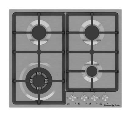 Встраиваемая варочная панель газовая Zigmund & Shtain GN 88.61 S Silver