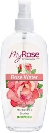 Освежающий спрей для лица и тела MY ROSE Розовая вода, 220 мл
