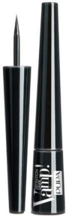 Подводка для глаз с фетровым аппликатором PUPA, тон №100 Black