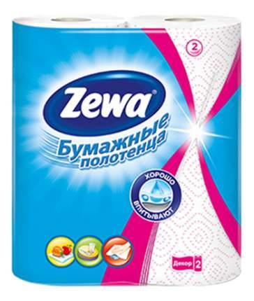 Бумажные полотенца Zewa lекор 2 штуки