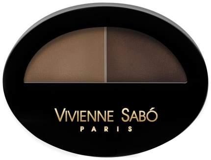 Тени для бровей Vivienne Sabo Brow Arcade двойные 01