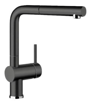 Смеситель для кухонной мойки Blanco LINUS-S 516708 черный