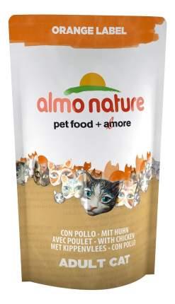 Сухой корм для кошек Almo Nature Orange Label, для стерилизованных, курица, 0,105кг