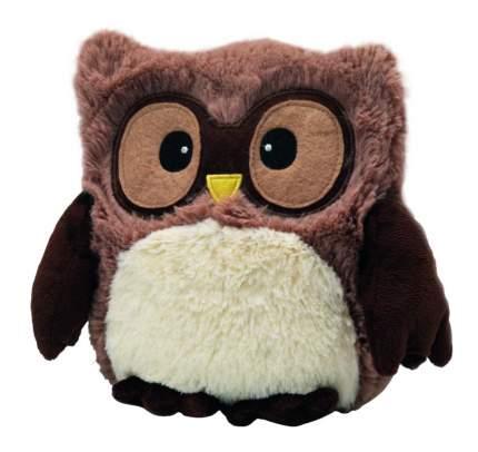 Мягкая игрушка-грелка Warmies Совенок коричневый