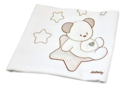 Покрывало детское Italbaby Sweet Star 65х80 пике крем