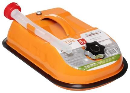 Канистра для бензина Airline металлическая горизонтальная 5 л 400x140 оранжевый