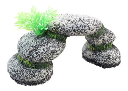 Грот для аквариума Laguna Арка из камней 2556LD, полиэфирная смола, 15х7х7,2 см