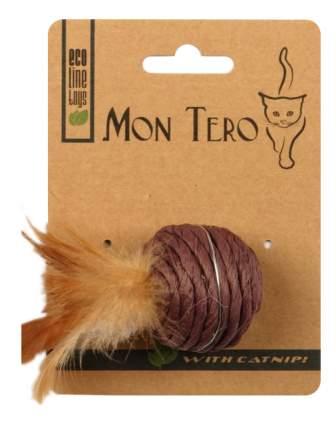Шар для кошек Мон Теро Эко, перо, бумага, 5 см