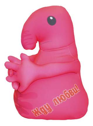 Игрушка-антистресс Оранжевый кот Хочун розовый