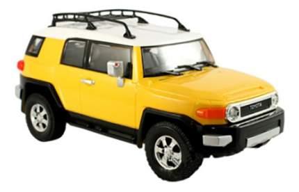 Радиоуправляемая машинка Kidztech Toyota FJ Cruiser желтый