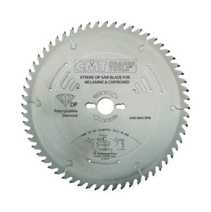 Пильный диск 250x30x3.2/2.2 10° 45° TCG Z=48 (DIA) CMT 237.048.10M