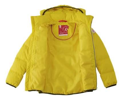 Куртка детская Reima Jord желтая р.134
