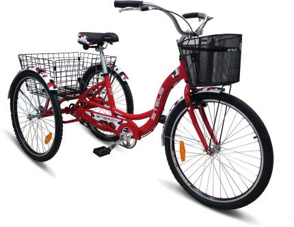 """Велосипед Stels Energy I 2017 16"""" серый"""