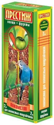 Лакомство для птиц Престиж, злаковое ассорти, 2шт, 0,145кг