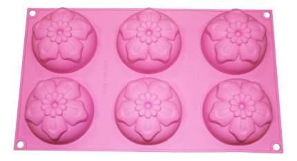 Форма для выпечки SILIKOMART Нарцисы розовая