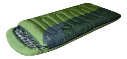 Спальный мешок Prival Берлога зеленый, левый