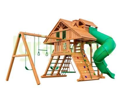 """Деревянная детская площадка для дачи Igragrad """"Крепость Фани Deluxe"""" 2"""