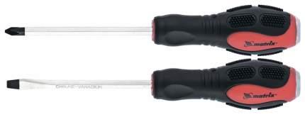 Набор ударных отверток 2шт, PH2x100, SL6x100 CrV// Matrix 19121
