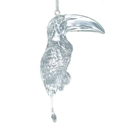 Елочная игрушка Crystal Deco Какаду 140072 10 см 1 шт.