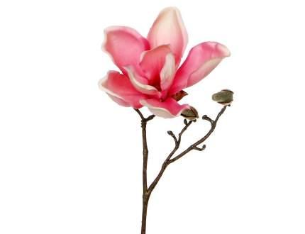 Веточка Цветущая Магнолия 25 см розовая 1005577