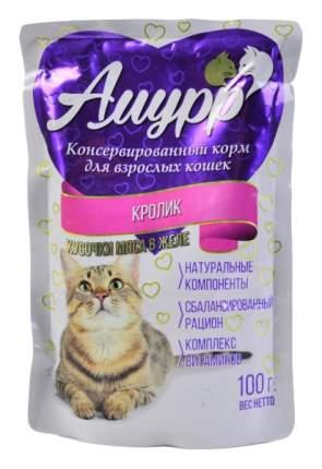 Влажный корм для кошек Амурр, кролик, 100г