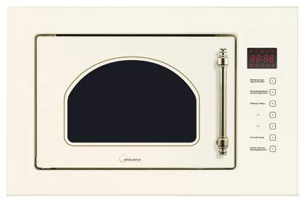 Встраиваемая микроволновая печь с грилем Midea Retro MI 9252 RGI-B